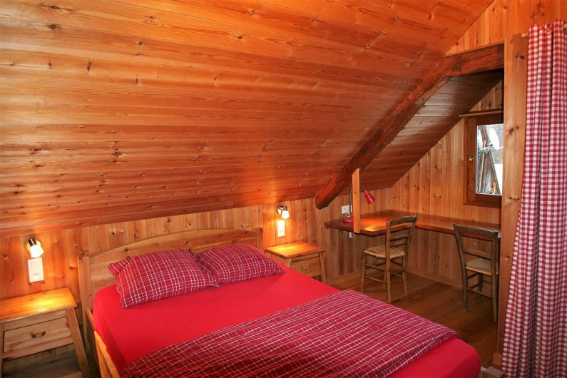 Location de vacances - Chalet à Puy-Saint-Vincent - Chambre couple