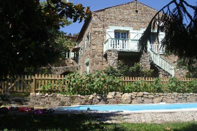 Location de vacances - Gîte à Saint-Alban-d'Ay - Exterieurs