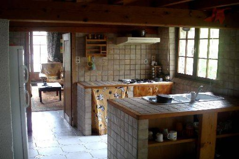 Location de vacances - Gîte à Saint-Alban-d'Ay - Cuisine équipée
