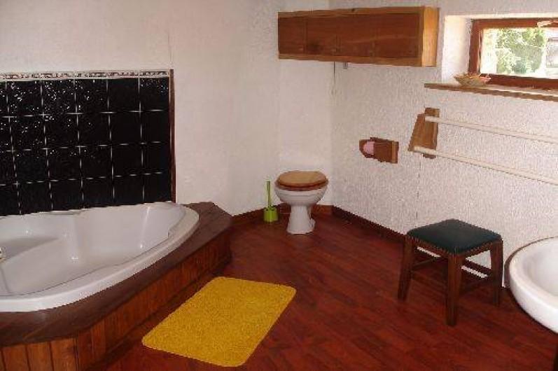Location de vacances - Gîte à Saint-Alban-d'Ay - Salle de bains
