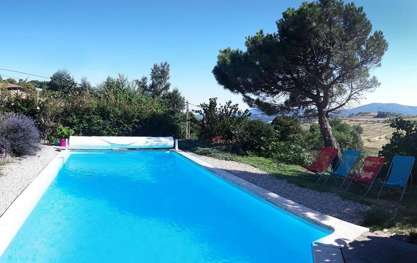 Location de vacances - Gîte à Saint-Alban-d'Ay - Piscine