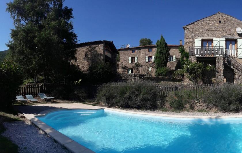 Location de vacances - Gîte à Saint-Alban-d'Ay - Extérieurs