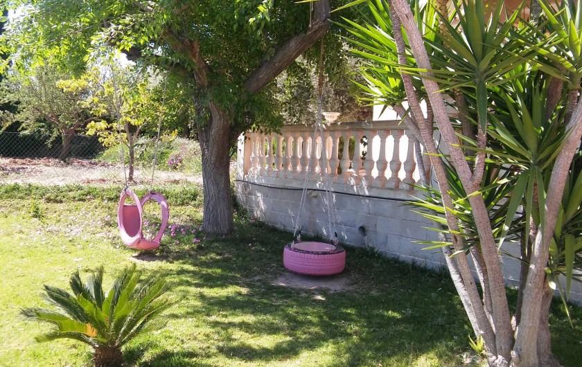 Location de vacances - Villa à Sant Vicent del Raspeig - Zona Cesped