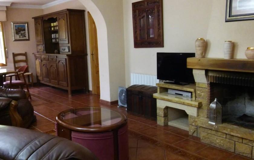 Location de vacances - Villa à Sant Vicent del Raspeig - salon