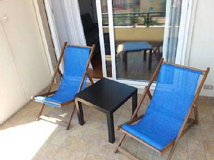 Location de vacances - Appartement à Ospedaletti - Coin détente