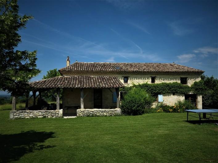 Location de vacances - Gîte à Villeréal - Grande maison indépendante de 150 m² sur 2 niveaux