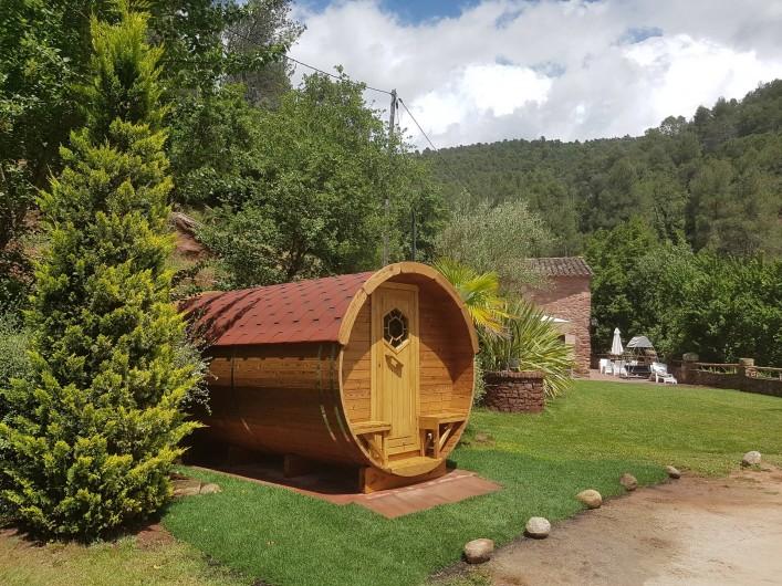 Location de vacances - Chalet à Tagamanent - Chambre Bota Avi Arnau (salle à l'extérieur), num.4