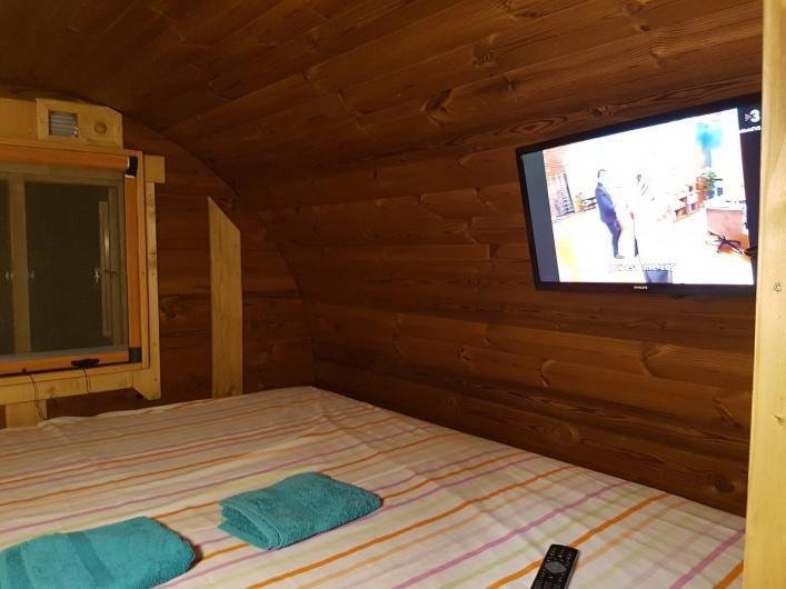 Location de vacances - Chalet à Tagamanent - Chambre Bota Avi Arnau, num.4 (+ TV)