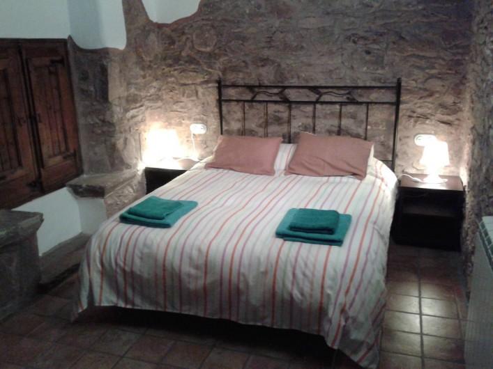 Location de vacances - Chalet à Tagamanent - Chambre Lola, num.2  + TV (à l'étage)
