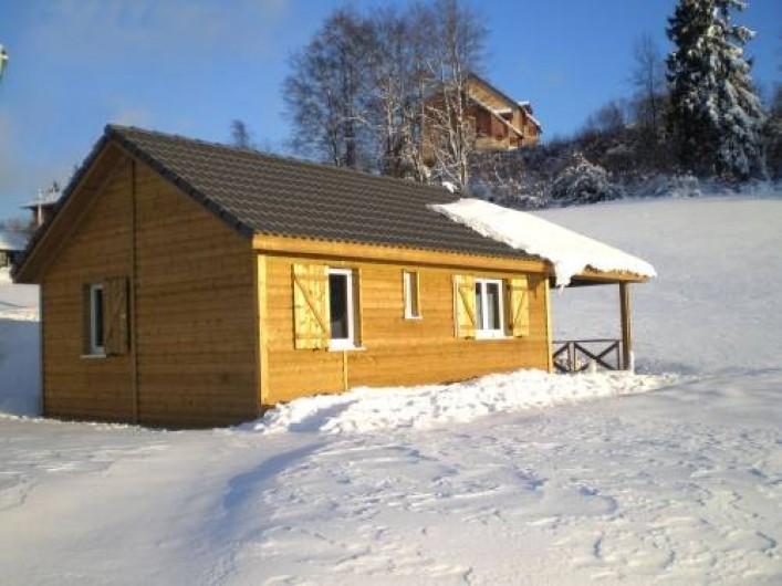 Location de vacances - Camping à Les Hôpitaux-Neufs - Chalet