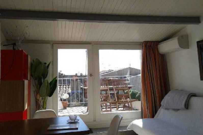 Location de vacances - Appartement à La Rochelle - Séjour