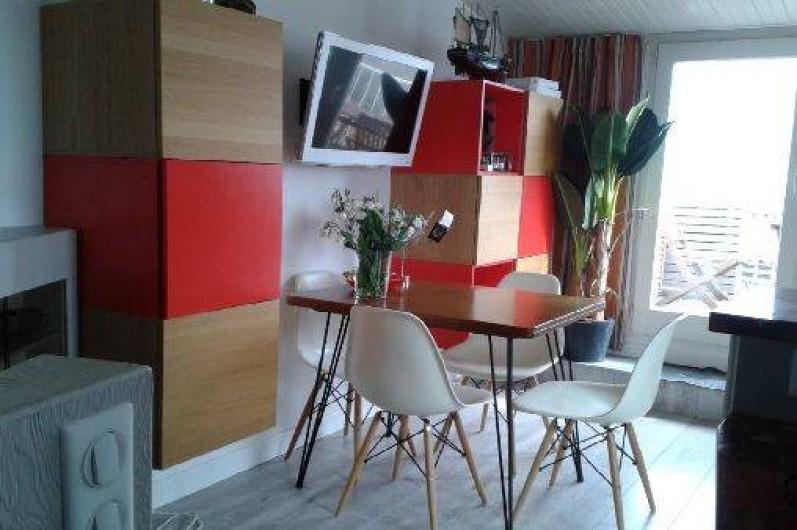 Location de vacances - Appartement à La Rochelle - Salle à manger