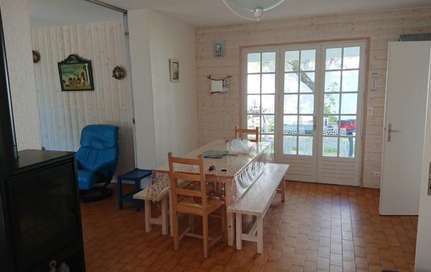 Location de vacances - Villa à Saint-Denis-d'Oléron - L'espace repas