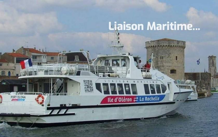 Location de vacances - Villa à Saint-Denis-d'Oléron - à proximité : la Rochelle à 1h de bateau au départ de Saint-Denis