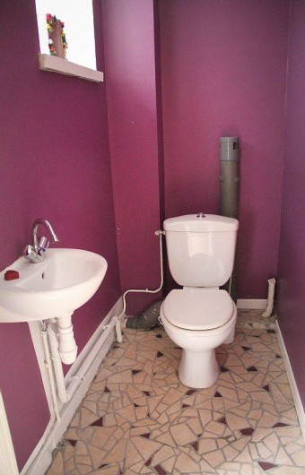Location de vacances - Appartement à Granville - Les toilettes