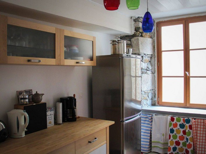 Location de vacances - Appartement à Granville - La cuisine