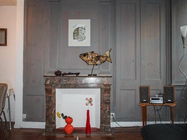 Location de vacances - Appartement à Granville - Séjour - Salon