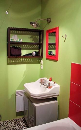 Location de vacances - Appartement à Granville - La salle de bain