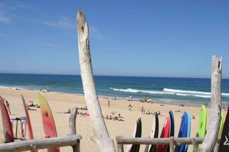 Location de vacances - Appartement à Capbreton - La mer et le surf