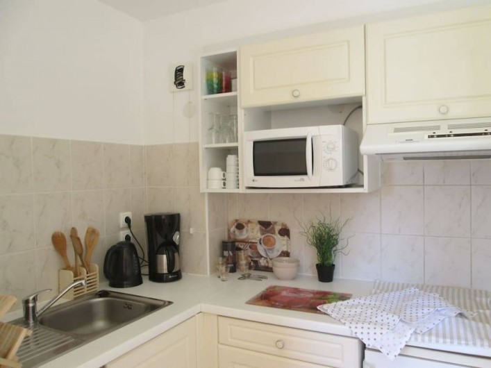 Location de vacances - Appartement à Capbreton - Cuisine toute équipée