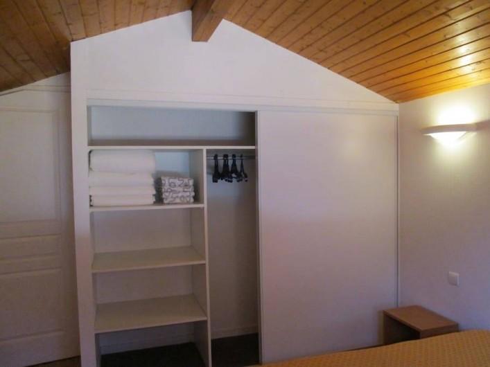 Location de vacances - Appartement à Capbreton - 3 grands placards - penderies