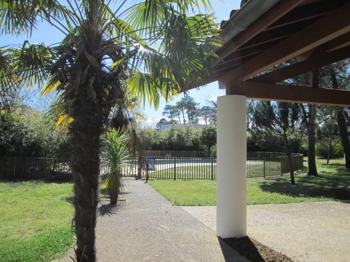 Location de vacances - Appartement à Capbreton - Accès piscine