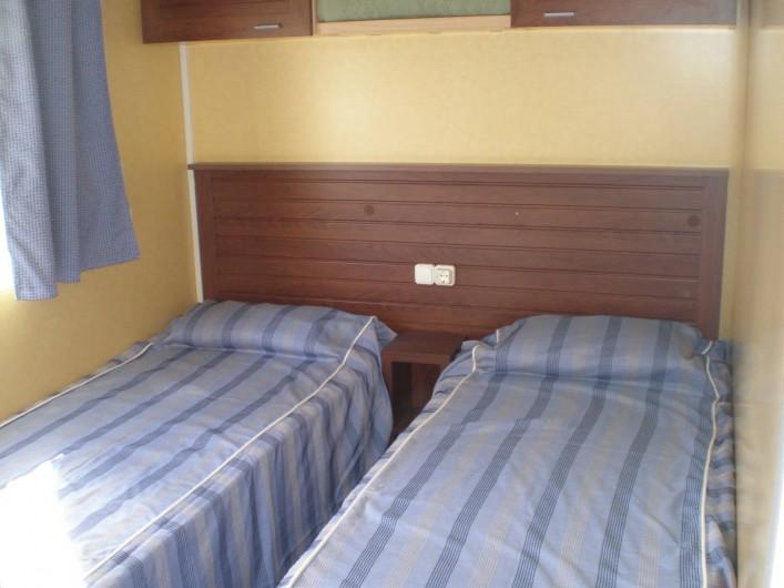 Location de vacances - Bungalow - Mobilhome à Argelès-sur-Mer - chambre 2 ou 3