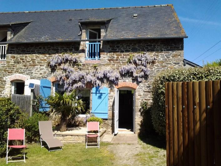 Location de vacances - Gîte à Saint-Méloir-des-Ondes - La Maison