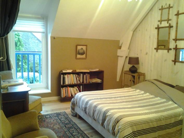 Location de vacances - Gîte à Saint-Méloir-des-Ondes - Chambre 1