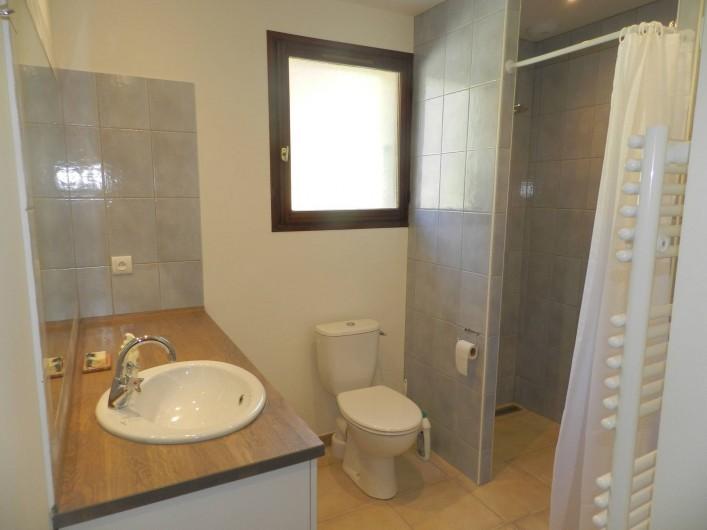 Location de vacances - Gîte à Saint-Roman - salle de douche