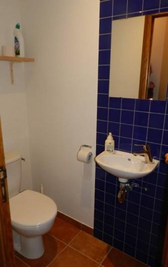 Location de vacances - Gîte à Saint-Roman - toilette