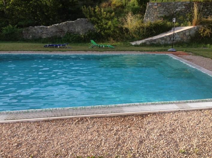 Location de vacances - Appartement à Calice Ligure - piscine