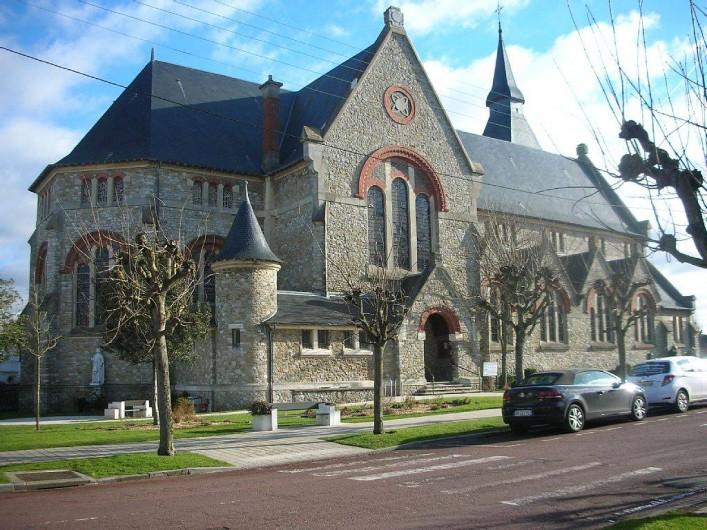 Location de vacances - Studio à Le Touquet-Paris-Plage - EGLISE STE JEANNE D'ARC