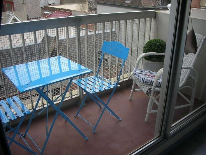 Location de vacances - Studio à Le Touquet-Paris-Plage - LE BALCON