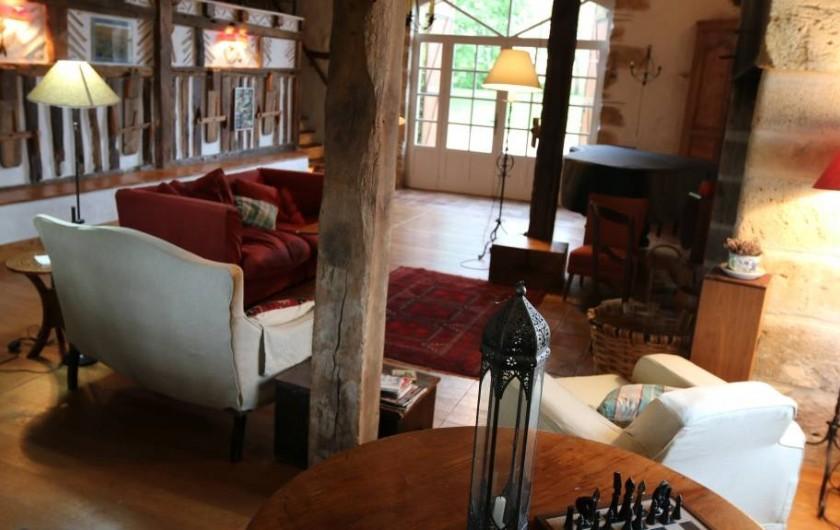 Location de vacances - Maison - Villa à Montagnac-sur-Lède - Salon