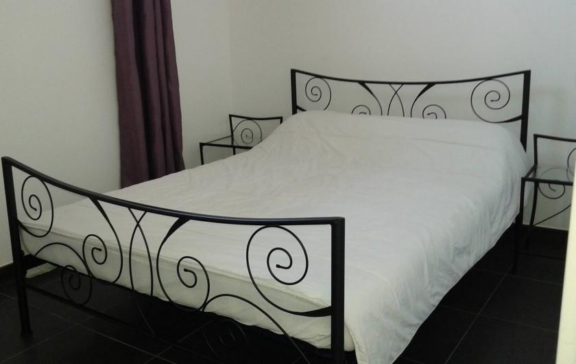 Location de vacances - Appartement à Le Crès - lit dans la chambre