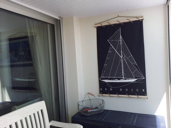 Location de vacances - Appartement à Damgan - Loggia