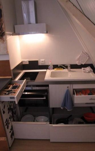 Location de vacances - Chalet à Ruminghem - la cuinine