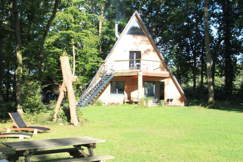 Location de vacances - Chalet à Ruminghem - l'extérieur du chalet