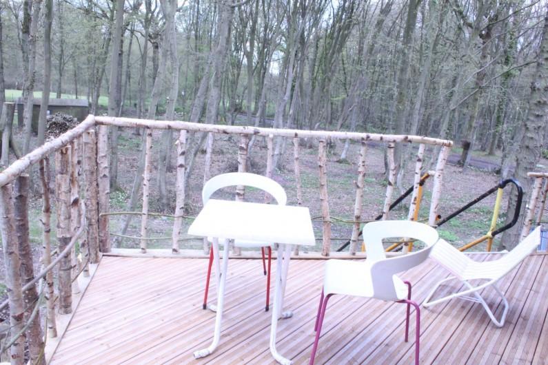 Location de vacances - Chalet à Ruminghem - terrasse