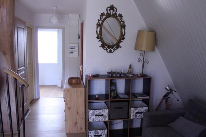 Location de vacances - Chalet à Ruminghem - couloir