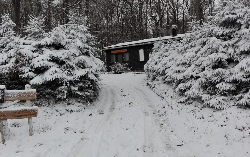 Location de vacances - Chalet à Mirwart
