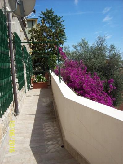 Location de vacances - Appartement à Alassio - la terrasse