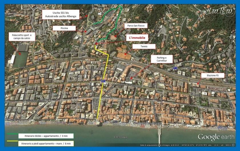 Location de vacances - Appartement à Alassio - Alassio