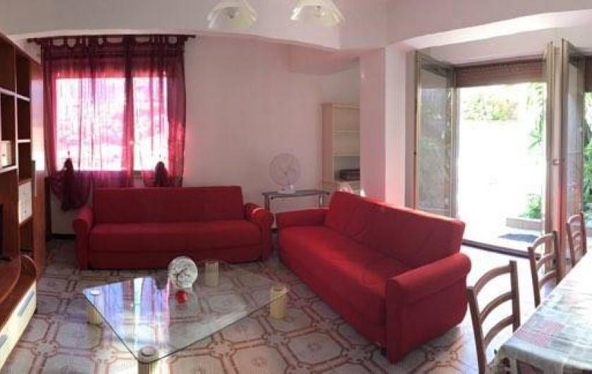 Location de vacances - Appartement à Alassio - séjour