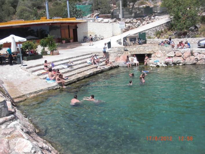 Location de vacances - Appartement à Valence - Font sala, eau thermale a environs 2 klm, ou ont peu ce baigner toute L' année.