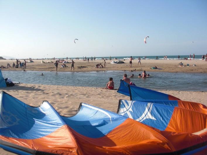 Location de vacances - Appartement à Valence - plage avec embouchure du [rio mar]
