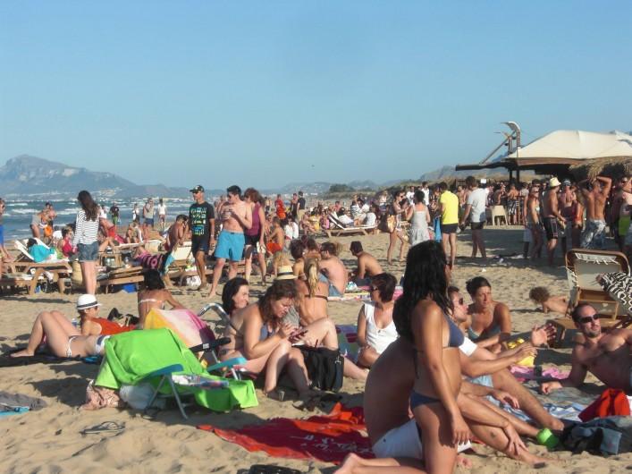 Location de vacances - Appartement à Valence - plage avec paillote ( oli baba)