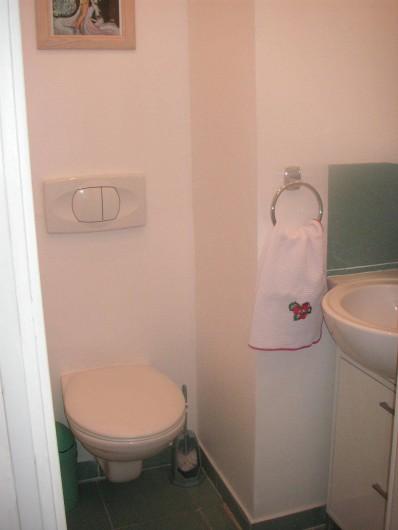 Location de vacances - Appartement à Cannes - 2EME WC