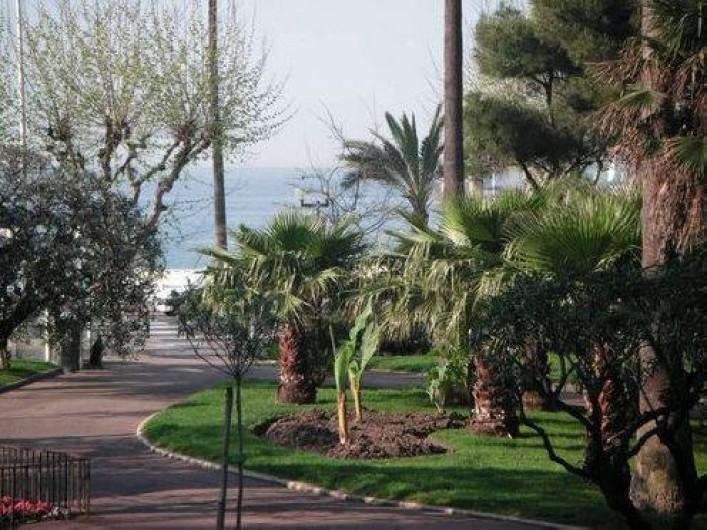 Location de vacances - Appartement à Cannes - VUE DU BALCON